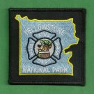 Yellowstone National Park Wyoming Patch