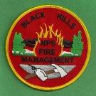 Black Hills South Dakota National Park Service Fire Patch