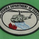 California Department of Forestry Fire Helitack Patch
