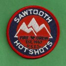 Sawtooth National Forest USFS Hot Shot Crew Fire Patch