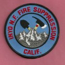 Inyo National Forest USFS Fire Crew Patch