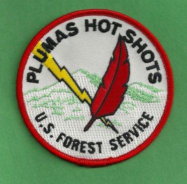 Plumas National Forest USFS Hot Shot Crew Fire Patch