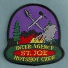St. Joe Idaho USFS BLM Hot Shot Crew Fire Patch