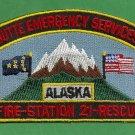 Butte Alaska Fire Rescue Patch