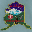 Willows Alaska Fire Rescue Patch