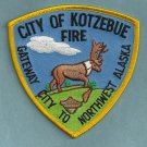 Kotzebue Alaska Fire Patch