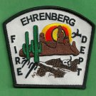 Ehrenberg Arizona Fire Patch