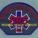 Regional Arizona Fire Rescue Services Patch