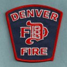 Denver Colorado Fire Patch