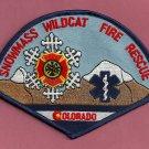 Snowmass-Wildcat Colorado Fire Patch