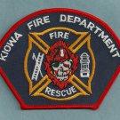 Kiowa Colorado Fire Rescue Patch