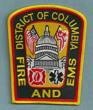 District of Columbia Fire Rescue EMS Patch