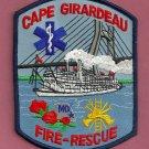 Cape Girardeau Missouri Fire Patch River Boat