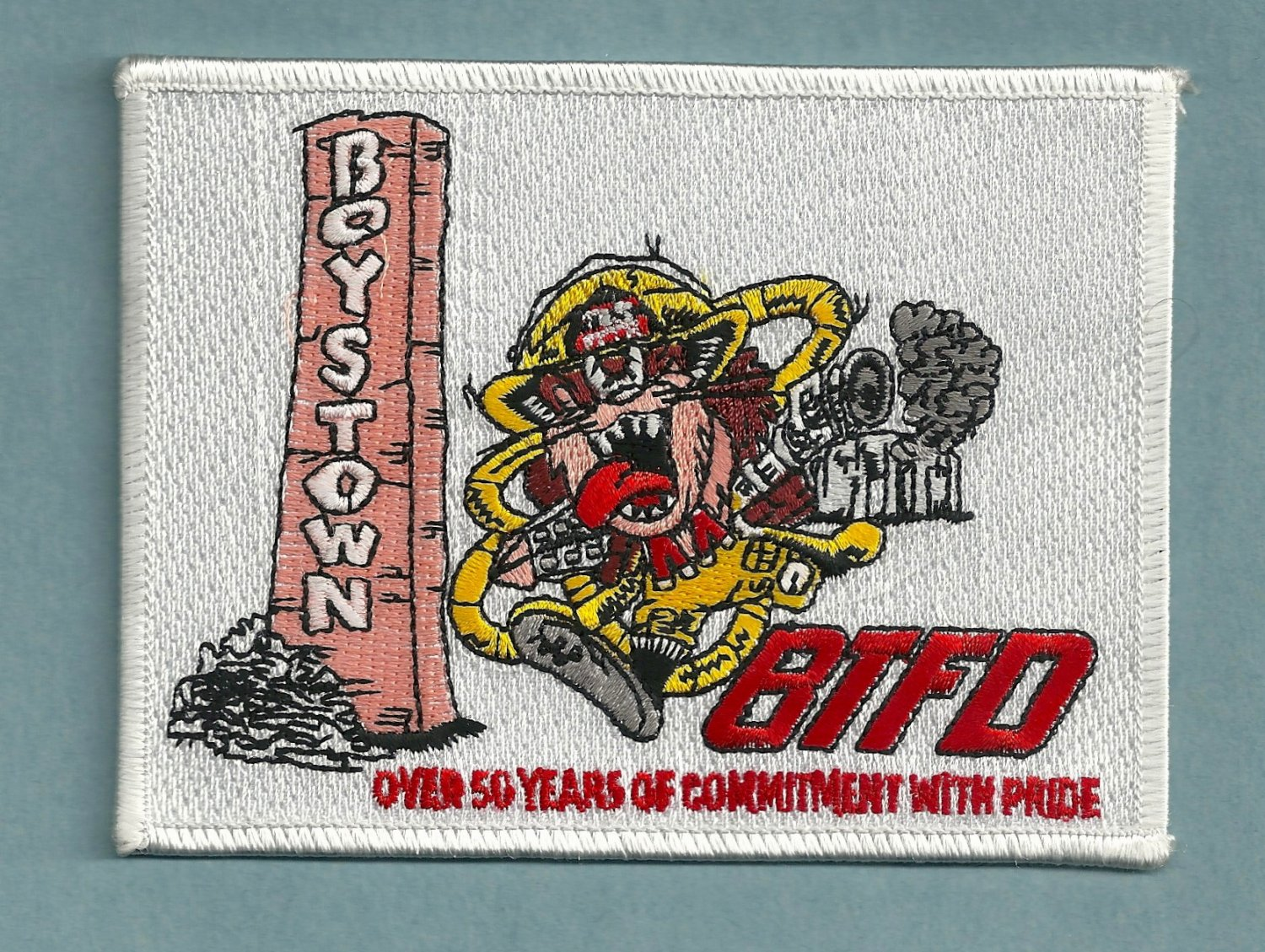 Boy's Town Nebraska Fire Patch