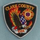 Clark County Nevada Fire Patch