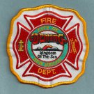 Deming New Mexico Fire Rescue Patch