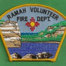 Ramah New Mexico Tribal Fire Rescue Patch
