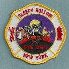 Sleepy Hollow New York Fire Patch