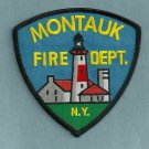 Montauk New York Fire Patch LIGHTHOUSE