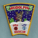 Rudolph Wisconsin Fire Patch
