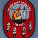 Prairie Band Of Potawatomi Indians Kansas Tribal Fire Patch