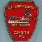 Corinth Vermont Fire Patch