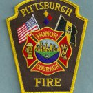 Pittsburgh Pennsylvania Fire Patch