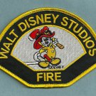 Walt Disney Studios California Fire Rescue Patch