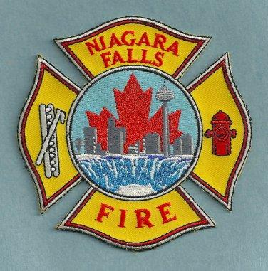 Niagara Falls Ontario Canada Fire Patch