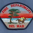 Del Mar California Fire Patch