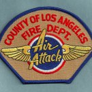 Los Angeles County California Air Attack Fire Patch
