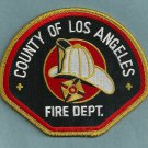 Los Angeles County California Fire Patch
