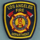 Los Angeles City California Fire Patch