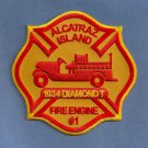 Alcatraz Prison California Fire Patch
