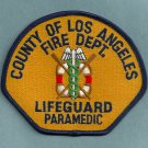 Los Angeles County California Lifeguard Paramedic Fire Patch