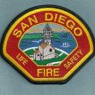 San Diego California Fire Patch