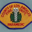 Los Angeles County California Paramedic Fire Patch