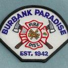 Burbank-Paradise California Fire Patch