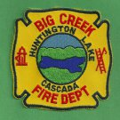 Big Creek California Fire Patch
