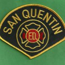 San Quentin Prison California Fire Patch