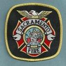 Sacramento California Fire Patch STATE CAPITOL