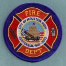 Mountain View California Fire Patch