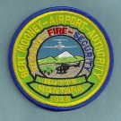 Bert Mooney Regional Airport Authority Fire Rescue Patch ARFF