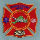Marthas Vineyard Municipal Airport Fire Rescue Patch ARFF