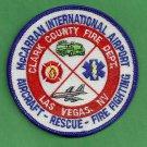 Las Vegas McCarran International Airport Fire Rescue Patch ARFF
