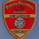 Pierre Regional Airport Fire Rescue Patch ARFF
