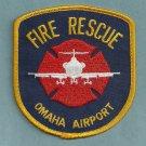 Omaha International Airport Fire Rescue Patch ARFF