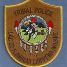 Lac Du Flambeau Chippewa Wisconsin Tribal Police Patch