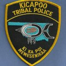 Kicapoo Oklahoma Tribal Police Patch