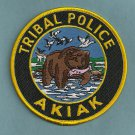Akiak Alaska Tribal Police Patch